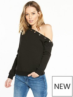 v-by-very-popper-off-the-shoulder-sweat-black