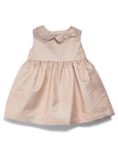 mamas-papas-baby-girls-metallic-jacquard-dress