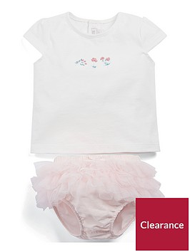 mamas-papas-baby-girls-2-piece-tee-amp-frill-knickers