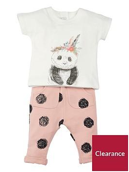 mamas-papas-baby-girls-t-shirt-amp-spot-jogger-outfit