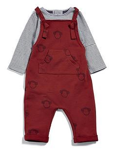 mamas-papas-baby-boys-monkey-dungaree-outfit