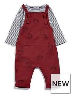 mamas-papas-baby-boys-monkey-dungaree-outfit