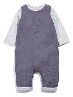 mamas-papas-baby-unisex-dungaree-outfit