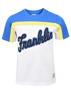 franklin-marshall-boys-logo-colourblock-t-shirt