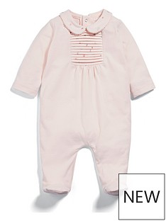 mamas-papas-baby-girls-woven-collar-all-in-one