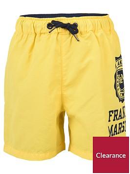 franklin-marshall-boys-logo-swim-shorts