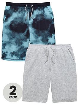 v-by-very-2-pack-fashion-sweat-shorts