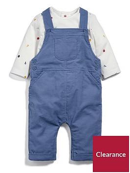 mamas-papas-baby-boys-dungree-outfit
