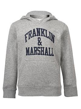 franklin-marshall-boys-logo-hoodie
