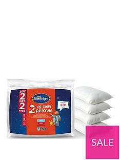Silentnight So Cosy Pillows - 2 + 2 FREE!