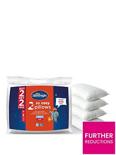 Silentnight So Cosy Pillows - 2 + 2 FREE!