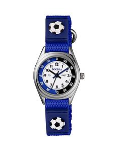 tikkers-velcro-strap-football-kids-watchnbsp--blue