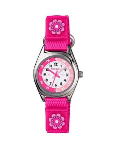 tikkers-tikkers-velcro-strap-football-kids-watch-pink