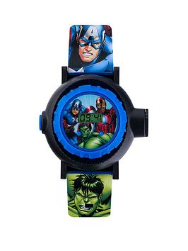 the-avengers-avengers-silicone-strap-projector-kids-watch