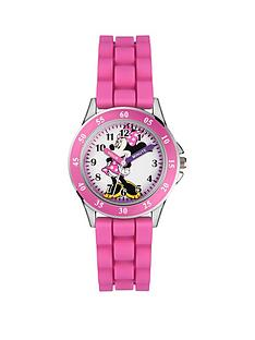 minnie-mouse-disney-mini-mouse-pink-silicone-strap-time-teacher-girl-watch