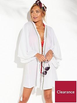 v-by-very-embellished-tassel-trim-open-front-kaftan-white