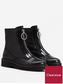 mango-marty-front-zip-ankle-boot