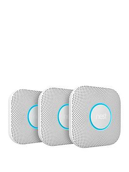 nest-protect-2nd-generation-smoke-alarmnbsp--battery-operated-3-pack