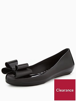 zaxy-pop-bow-jelly-ballerina-shoe-blacknbsp