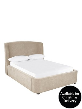 calm-lift-up-storage-fabric-bed-frame-with-headboard-and-mattress-options-buy-and-save