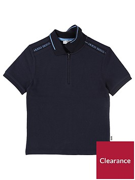 boss-boys-short-sleeve-tipped-collar-polo