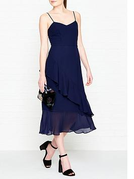 whistles-amber-frill-dress-navy