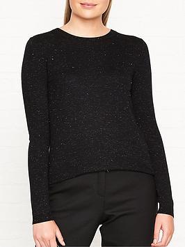 whistles-annie-sparkle-knitted-jumpernbsp--black