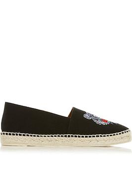 kenzo-tiger-canvas-espadrillesnbsp--black