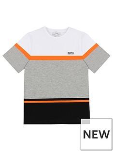 boss-boys-colourblock-short-sleeve-t-shirt