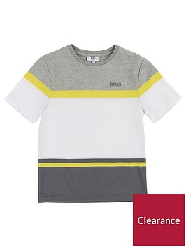 boss-boys-colourblock-short-sleeve-t-shirt