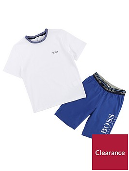boss-boys-t-shirt-short-pyjama-set