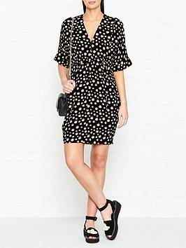 whistles-frances-gathered-eclipse-print-dress-blackwhite