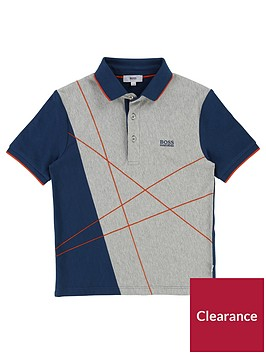 boss-boys-short-sleeve-graphic-polo