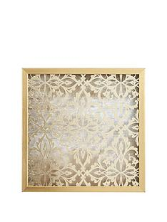 ideal-home-gold-damask-wall-art