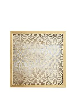 ideal-home-gold-damask-wall-art