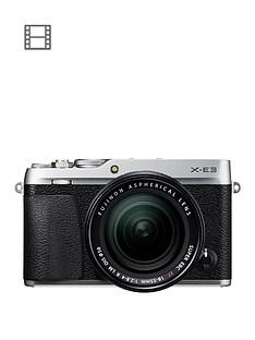 fujifilm-x-e3-camera-xf-18-55-lens-kit-243mp-30lcd-4k-silver