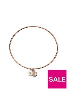 emporio-armani-ladies-rose-gold-tone-double-disc-bracelet