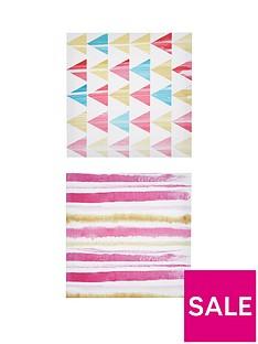 ideal-home-set-of-2-scandi-pattern-wall-art-prints