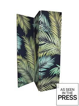 arthouse-palm-leaves-dark-room-divider-screen