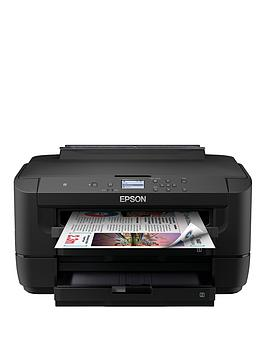 Epson Epson Workforce Wf-7210Dtw With Epson Multipack 4-Colours 35 Durabrite Ultra Ink - Epson Workforce Wf-7210Dtw With Ink