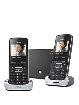 gigaset-sl450a-go-duo-high-end-phone-with-nuisance-call-block
