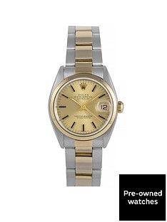 rolex-rolex-pre-owned-midsize-datejust-champagne-dial-bimetal-mens-watch-ref-6824