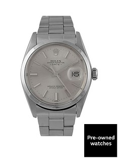 rolex-rolex-pre-owned-date-silver-dial-stainless-steel-mens-watch-ref-1500