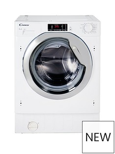 Candy CBWM 814DC-80 8kg Load, 1400 Spin Fully Integrated Washing Machine - White Best Price, Cheapest Prices
