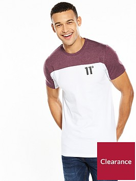 11-degrees-colour-block-block-tshirt