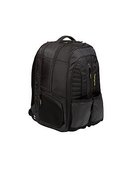 Targus Targus Work + Play Rackets 15.6&Quot; Laptop Backpack - Black/Yellow