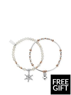 chlobo-sterling-silver-the-snowflake-set