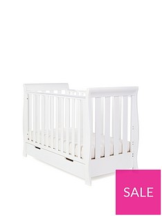 obaby-stamford-mini-sleigh-cot-bed