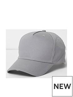 river-island-nibbled-baseball-cap