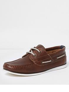 river-island-boat-shoe